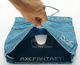 AMBIENT MARKETING - Con Axe fantasie negli internet cafè