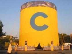 Ambient Marketing - Una Crociera Costa al centro di Roma