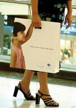 Bagvertising - Centro di Autismo di Dubai