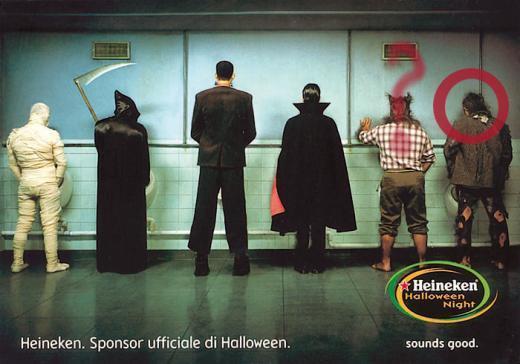 Heineken Halloween Party - Chi è il personaggio misterioso?