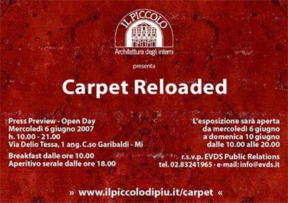 Carpet Reloaded: Cosa c'entrano i tappeti con il marketing?