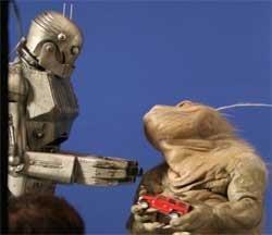 Godzilla e Robot, Hummer a prima vista!