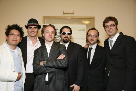 Ninja con i fondatori di You Tube