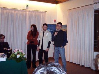Spot School Award - Francesca Colautti, Luca Cian e Gianpaolo Casciano dell'Università degli Studi di Trieste, Vincitori Spot School Award 2004