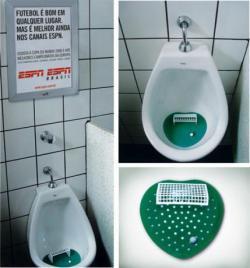 GUERRILLA - Urinal Advertising