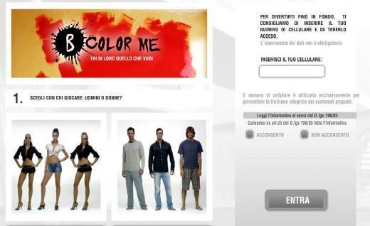 Viral Site - Lancia B Color me: Fai di loro quello che vuoi