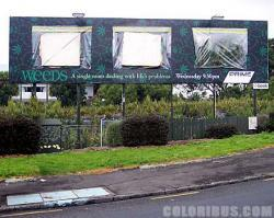 Viral Video - Un billboard pieno d'erba per Weeds
