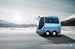 VW Golf R32: l'advertising che rivoluziona lo spazio