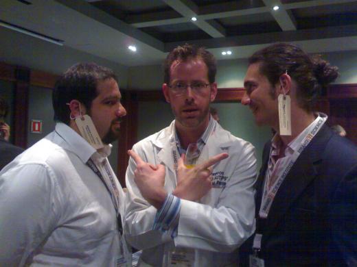Alex, Mirko e il Word Of Mouth a Barcelona