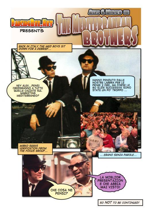 Word Of Mouth Conference in Barcelona - Blues Brothers