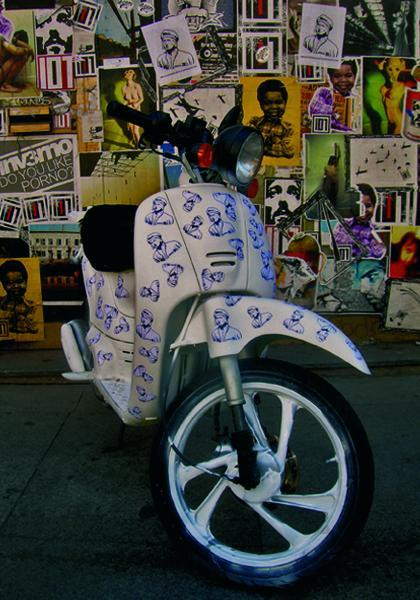 Il Bistekka Pensiero va in scooter!!!