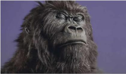 Drumming Gorilla for Cadbury