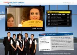 British Airways spicca il volo con Pam Ann (o forse è il contrario?)