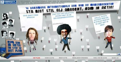 Amnesty International e la Giornata Mondiale dei Diritti Umani
