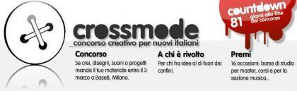Crossmode: Concorso creativo per nuovi italiani