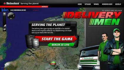 Heineken Delivery Man