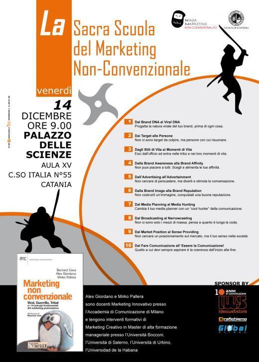 La Sacra Scuola del Marketing Non-Convenzionale a Catania
