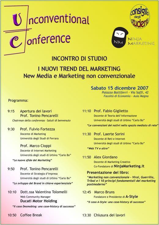 Unconventional Conference - I Nuovi Trend del Marketing