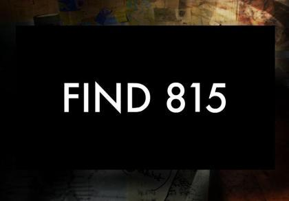 Find815, l'ARG di The Lost Experience
