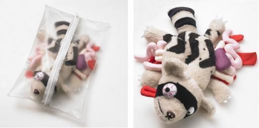 Roadkill Toys: giocattoli vittime della strada