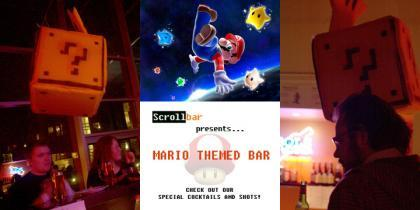Mario Themed Bar
