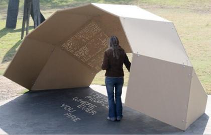 One Day Poem Pavilion: Quando il sole diventa poeta