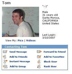 A proposito di Social Network: chi è davvero Tom di MySpace?