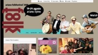 Ariano Folk Festival verso il web 2.0