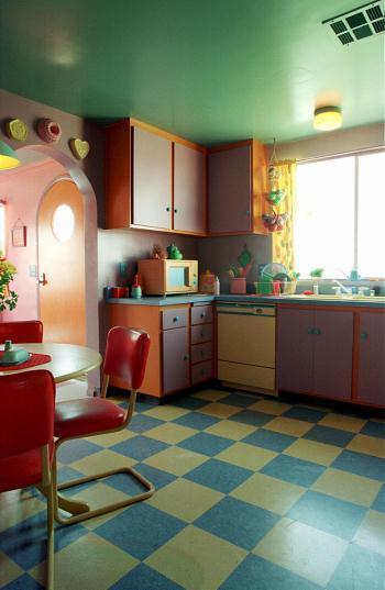 Riproduzione fedele di casa Simpson a partire dal tour in 3D