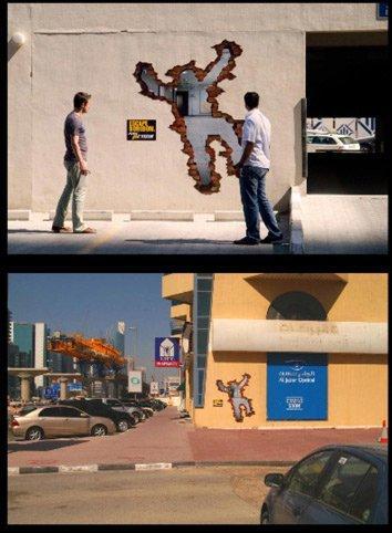 Guerrilla_Marketing_di_MBC Action Tv_per_le_strade_Dubai_3