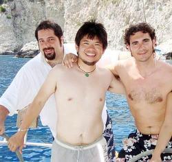 Agosto 2008 – Corriere del Mezzogiorno: Ninja in Costiera con Steve Chen