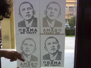 In Obama we trust