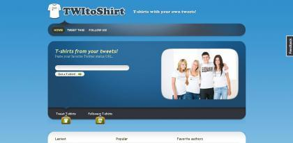 Come fare una T-Shirt con Twitter