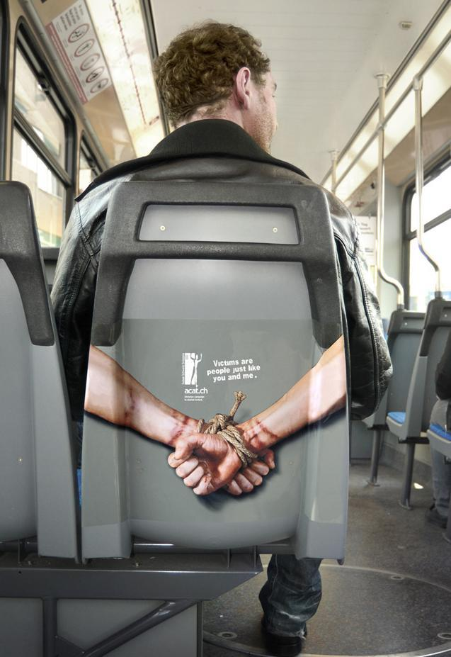 Ambient Marketing: campagna sociale contro le torture