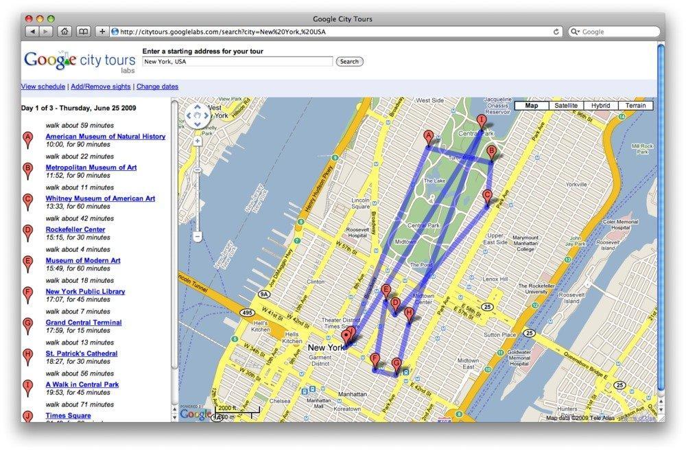 Google City Tours- Il nuovo modo di orientarsi