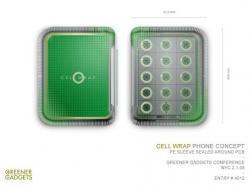 Sharp Solar Hybrid e Cell Wrap: i cellulari dall'anima verde