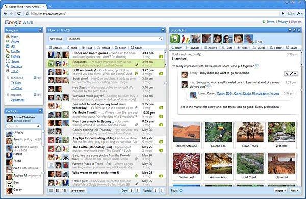 Google Wave: la nuova piattaforma di comunicazione in real time