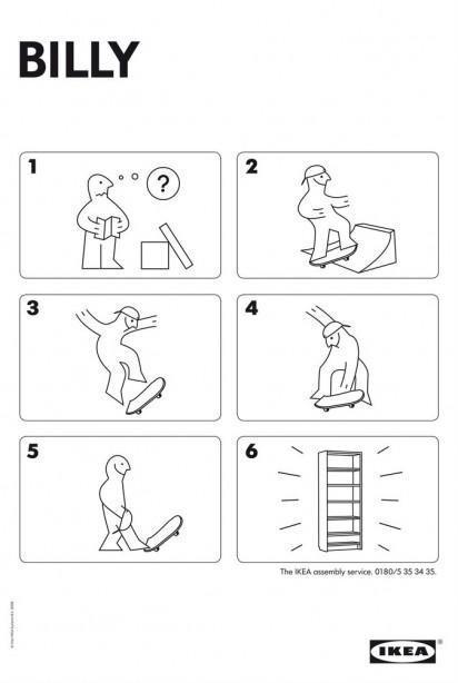 Istruzioni per l'Ikea Asembly Service