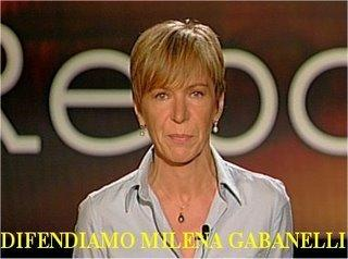 Sosteniamo Milena Gabanelli