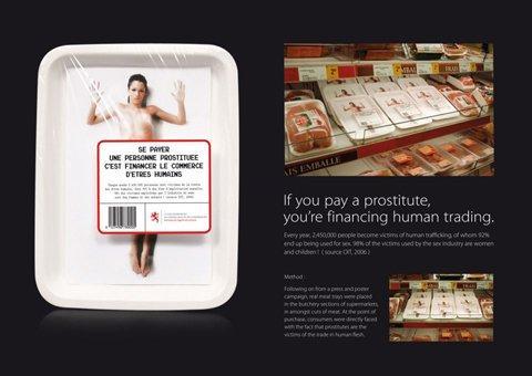 Vuoi forse contribuire al traffico di esseri umani?