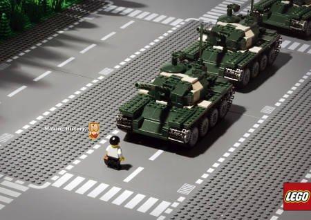 A lezione di Storia con Lego