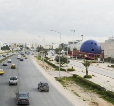 Ambient Marketing in Tunisia per l'apertura di Golden Bowling dopo