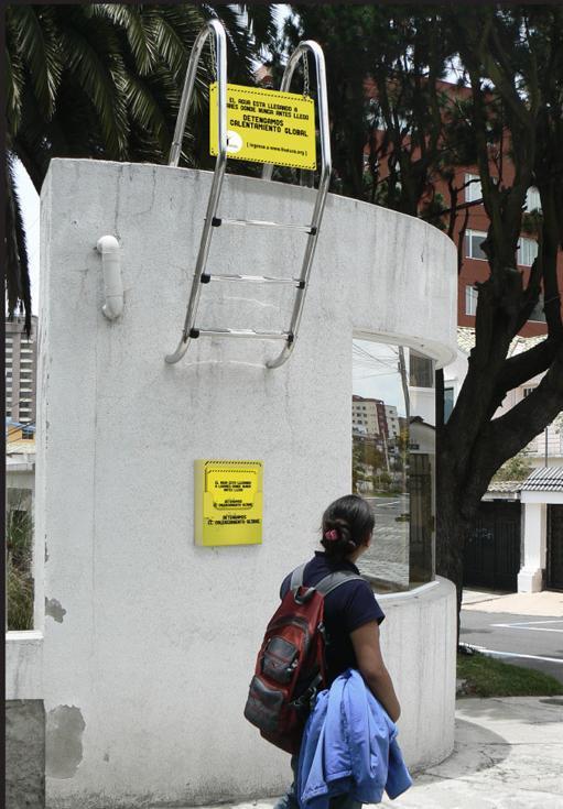 Ambient di Fundación Natura contro gli effetti del global warming