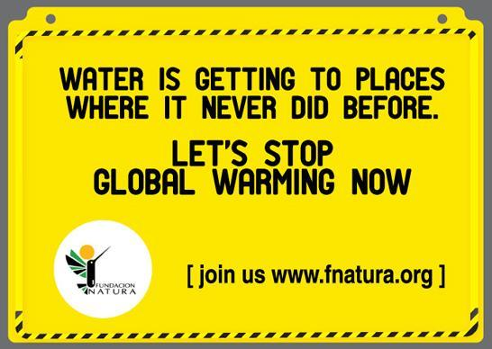 Fundación Natura si prepara agli effetti del global warming