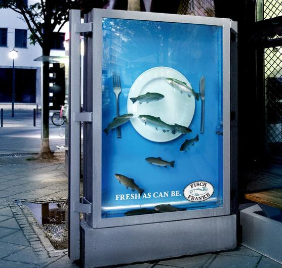 Billboard Vivente di Fish Franke