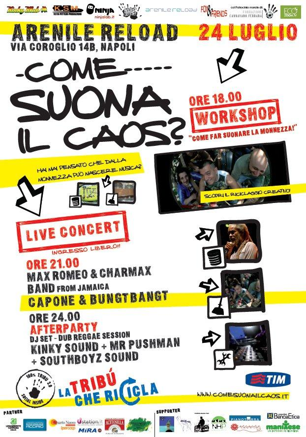 """""""Come suona il caos?"""" LIVE CONCERT venerdì 24 luglio 2009!"""