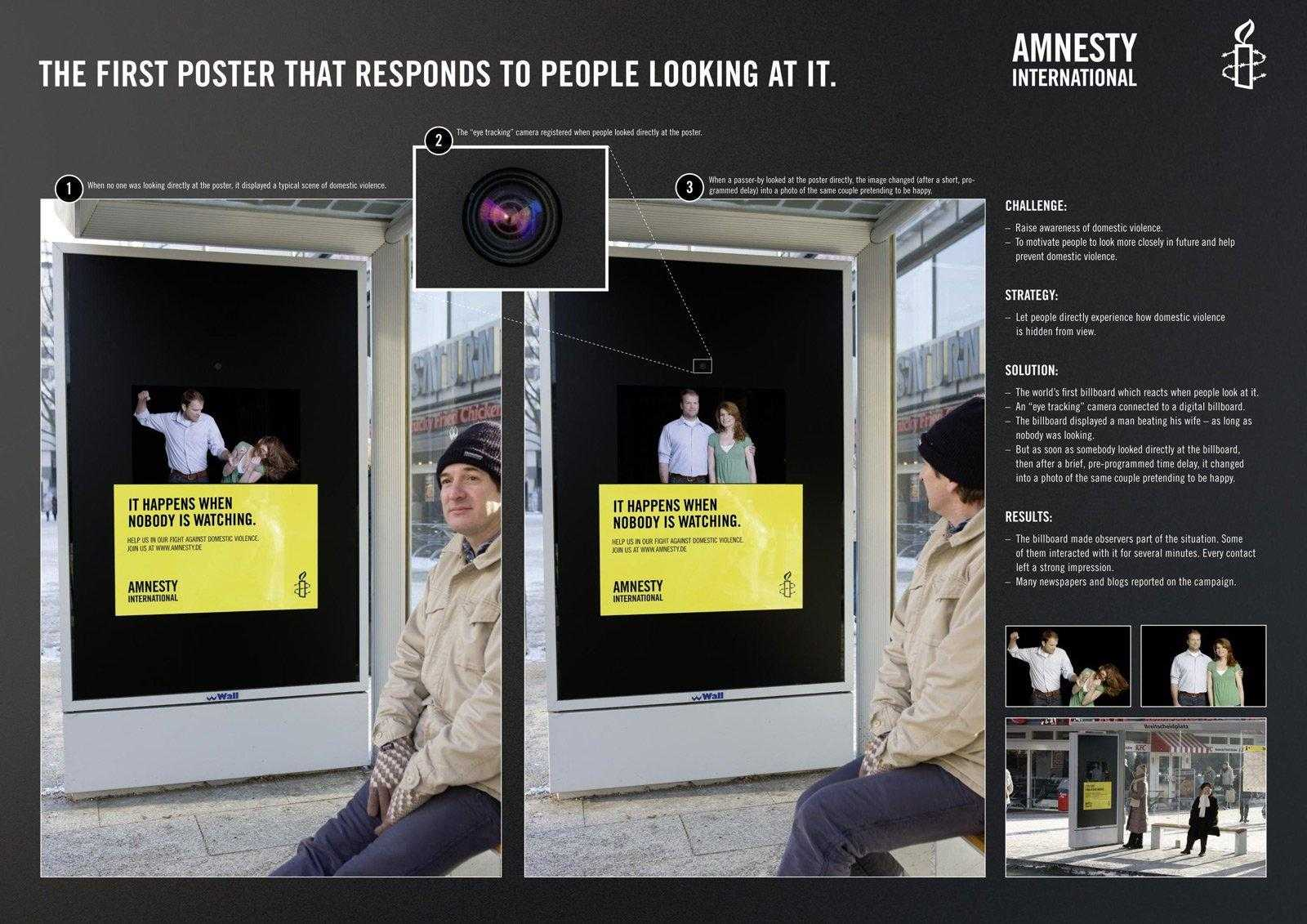 Amnesty International- Non farti ingannare dalle apparenze!