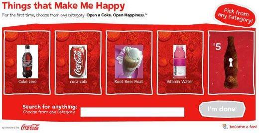 LivingSocial e Coca-Cola: cosa ci rende felici?