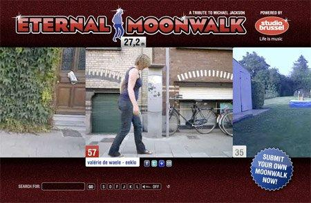 Il moonwalk eterno è user generated