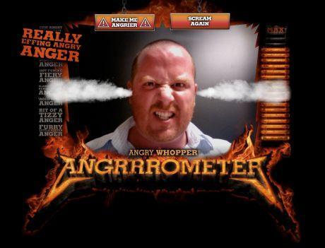 Angry Whopper Angrrrometer: metti a prova la tua rabbia